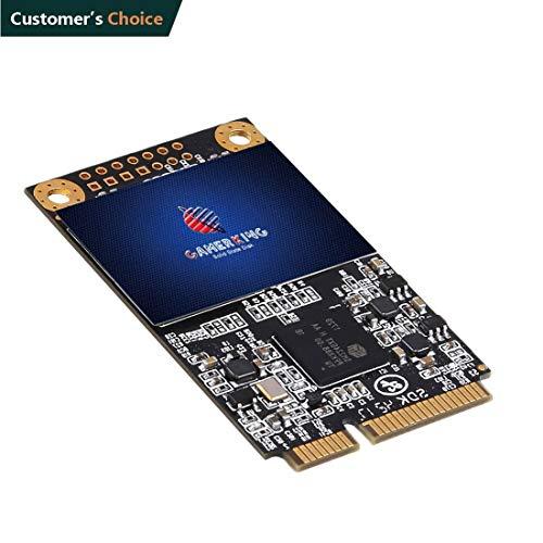 Gamerking SSD msata 500GB Internal Solid State Drive High Performance Hard Drive for Desktop Laptop SATA3 6Gb/s Mini PC (500GB, MSATA)