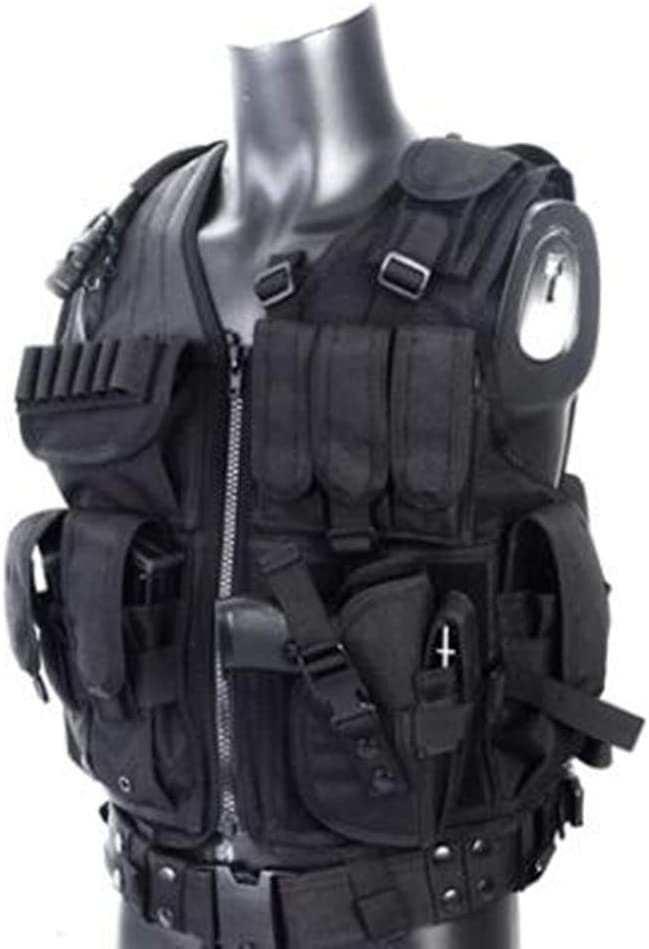 Outdoor Tactical Vest Militar 600D MULTI-POCKET Molle Assaul/'t Combat Gear W4E4