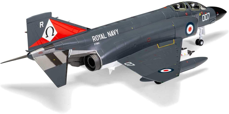 Corgi Diecast Mcdonnell Douglas Phantom FG.1 HMS Ark Royal 1:48 Military Aircraft Display Model AA27901