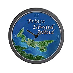 CafePress Prince Edward Island Unique Decorative 10 Wall Clock