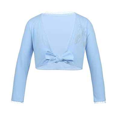 0e00a65d6b21 Amazon.com  CHICTRY Kids Girls Classic Long Sleeve Knitted Ballet ...