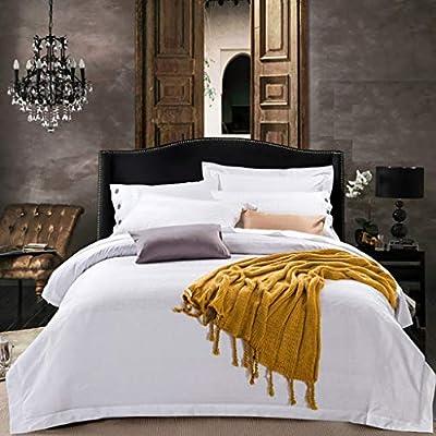 4 piezas Jacquard Colcha King Size Juegos de cama Jacquard Juego ...