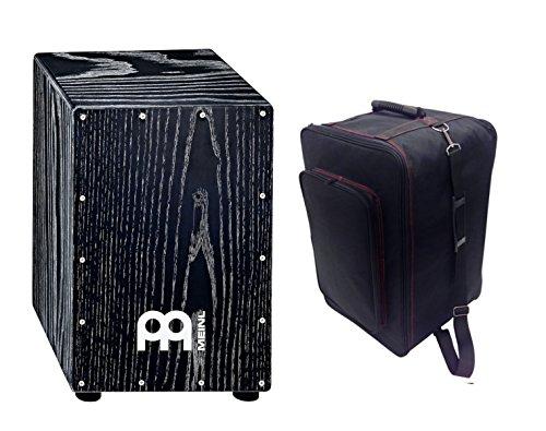 【人気モデル】カホンとカホンケース(黒)のセット / MEINL MCAJ100VBK + KC CJB-01 BK B0716XNHSC