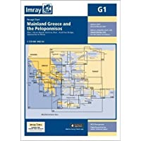 Imray Chart G1: Mainland Greece and the Peloponnisos (G Series, Band 1)
