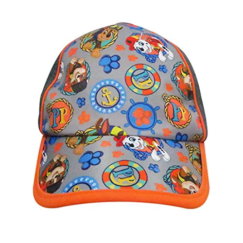 Paw Patrol Boys Baseball Cap with Marshall and Chase Characters - 100% Cotton by Paw Patrol (Image #1)