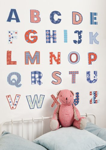 FunToSee Alphabet Nursery Bedroom Decals product image