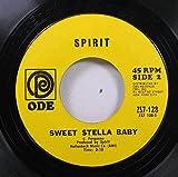 SPIRIT 45 RPM SWEET STELLA BABY / 1984