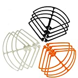 Amazingbuy - Syma X8HC X8HW X8HG X8C X8W X8G RC Drone Quadcopter Original Spare Parts - Props Protective Frame Blade Guards Propeller Protector Replacement (3 Sets 3 Colors)