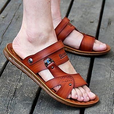 @Sandals D'Été De La Personnalité De La Mode Pour Hommes Chaussures Occasionnels, Les Chaussures De Plage Imperméable Résistante À L'Usure, Cool De Chaussons.