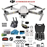 DJI Mavic Pro Platinum – Drone – Quadcopter – 4K Professional Camera Gimbal – Bundle – Kit – with 2 Batteries – with Must Have Accessories with HardCase For Sale