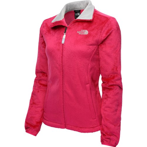 The North Face Womens Osito Jacket Passion Pink AAHY-1D7 Size Large