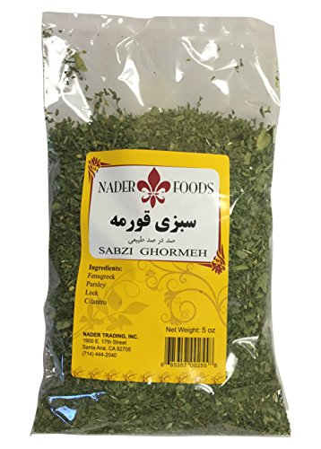 Nader Foods Sabzi Ghormeh