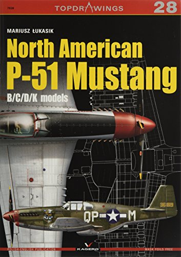 North American P-51 Mustang: B/C/D/K Models (TopDrawings) for sale  Delivered anywhere in USA