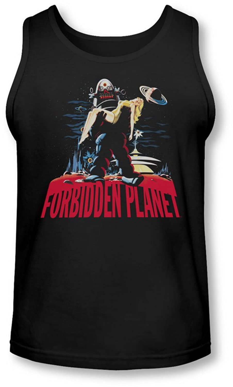 Forbidden Planet - Mens Robby And Woman Tank-Top