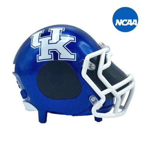 Nima Athletics NCAA Football Kentucky Wildcats Wireless Bluetooth Speaker. Officially Licensed Portable Helmet Speaker by NCAA College Football - (Kentucky College Football)