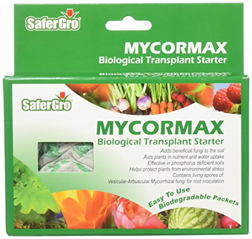SaferGro Mycormax Biological Transplant Starter, 0.5 lb (...