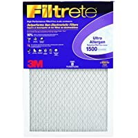 3M Filtrete Ultra Allergen Reduction FPR9 Air Furnace Filter 16 X 25 X 1 (1-Pack)