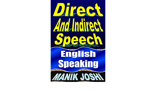 Amazon.com: Direct and Indirect Speech: English Speaking (English ...