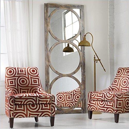 Hooker Furniture 638-50033 Melange Encircle Floor Mirror, Medium Wood Review