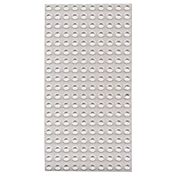 Bump Dots- Round-Flat Top-Clear-Medium-200pk