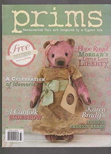 PRIMES MAGAZINE FREE PATTERN VOL 4. ISSUE 2 SPRING SUMMER 2013