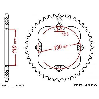 Acero 1350Amazon Dientes 520 Paso Sprockets es Jt Type 36 Corona 9YIHED2W