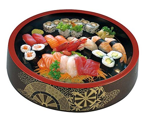 World Cuisine Serving Plate Sushi Oke D 8 1/2 X H 2 49655-21