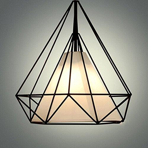 Neue chinesische Single Bügeleisen Hängelampen, Diamond Light Kabel Lampen Hängelampen Fashion Bar Restaurant Leuchten Leitern Studie Lampen leuchten (Größe  45 cm)