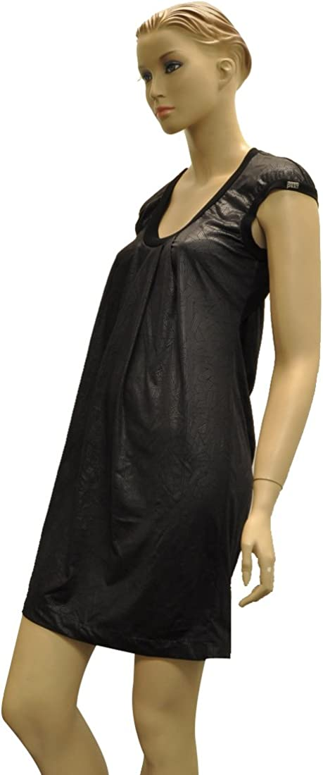 Miss Sixty Black Polyester Knee Length Dress