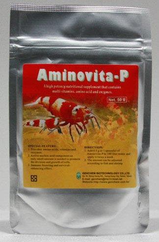 Amazon.com: genchem aminovita-p 50 g de suplemento con ...