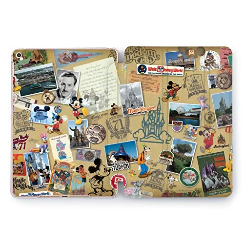 Wonder Wild Walter Disney World Castle Apple iPad Pro Case 9.7 11 inch Mini 1 2 3 4 Air 2 10.5 12.9 2018 2017 Design 5th 6th Gen Clear Smart Hard Cover Cartoon Characters Mickey Mouse Goofy Castle]()