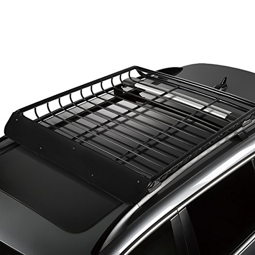 53 inches x 43 inches Mild Steel Roof Rack Top Cargo Carrier Basket
