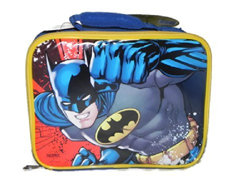 Batman One Punch Thermos Soft Insulated Lunch Kit