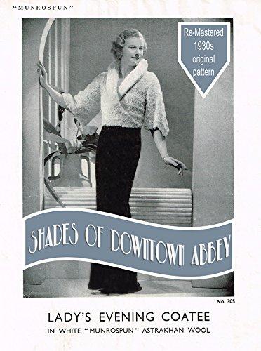 fef885bac Vintage Lady s Evening Coatee Knitting Pattern (Vintage Knitting Patterns  Book 1) by  Inward