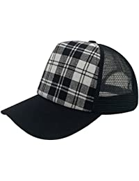Unisex Classic Retro Cotton Baseball Cap Trucker Mesh Hat Adjustable Curve Bill