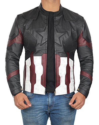 BlingSoul Captain America Cosplay Jacket - Infinity Merchandise Costume