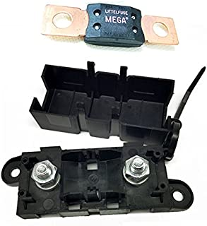 Woljay Bolt Down Auto Fuse Holder With MEGA Fuse 150A 32V 298 Series