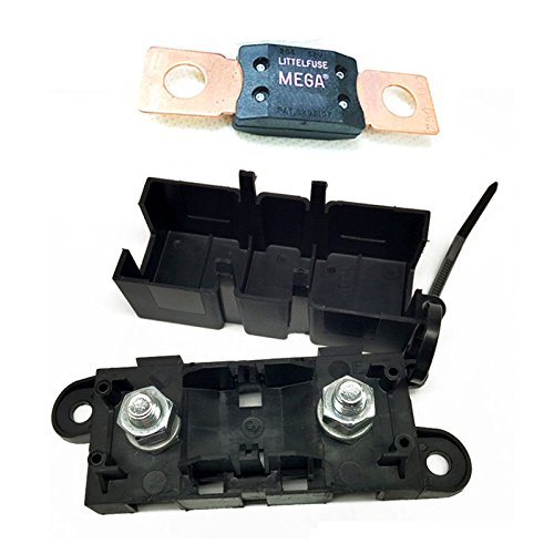 Automotive Bolt Down Fuse (Woljay Bolt Down Auto Fuse Holder With MEGA Fuse 125A 32V 298 Series)
