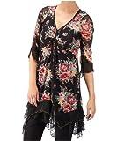 Joe Browns Women's Flattering Floral Crinkle Dress