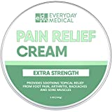 Everyday Medical Extra Strength Pain Relief Cream I best for Muscle Aches