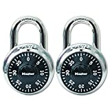 Master Lock 1500T Combination-Alike Locks, 2-Pack