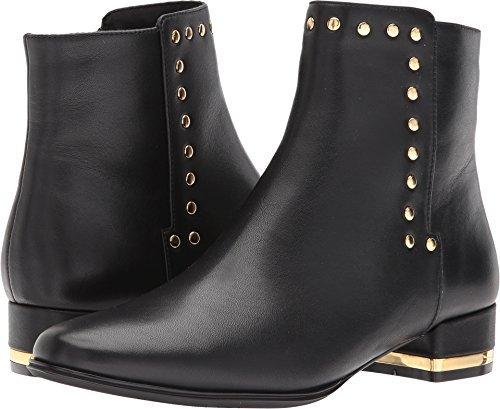 VANELi Women's Amina Black Nappa/Gold Trim 9 M US (Nappa Boots Trim)