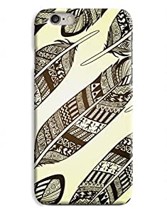 Ancient Feather Aztec iPhone 6 Case