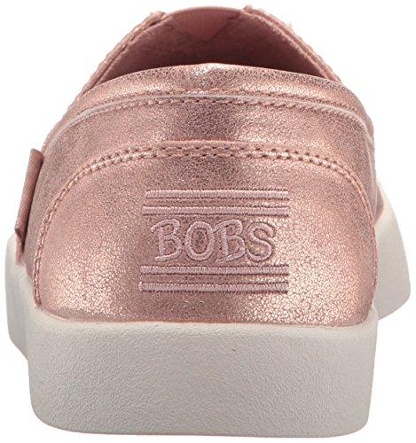 Skechers Bobs De Mujer Bobs B-loved-liquid Sparkle Flat Rose Gold
