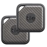 Tile EC-09002 Tile Sport - Key Finder. Phone Finder. Anything Finder (Graphite) - 2-pack