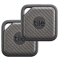 Tile - Key Finder. Phone Finder. Anything Finder - 2-pack, Tile Sport (Graphite)