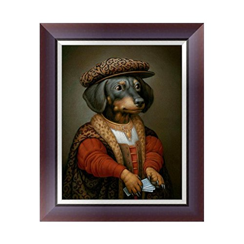 Wrisky DIY 5D Mr. Dog Diamond Embroidery Rhinestone Painting