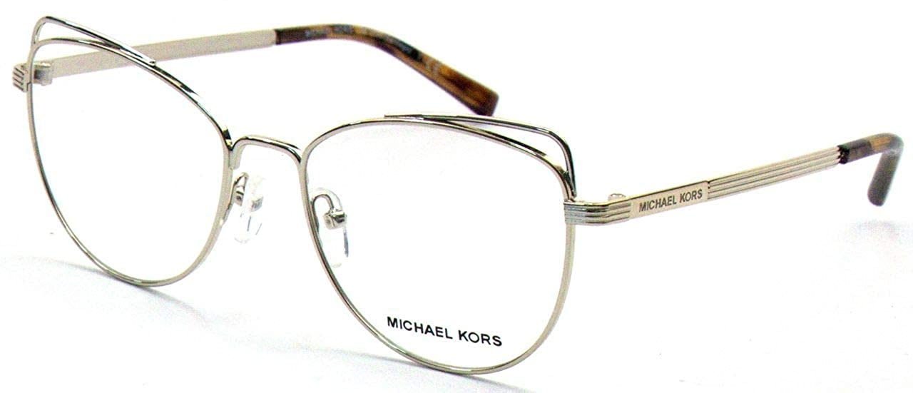43381862e11 Michael Kors Santiago MK 3025 Gold 53 17 135 Women Eyewear Frame at Amazon  Men s Clothing store