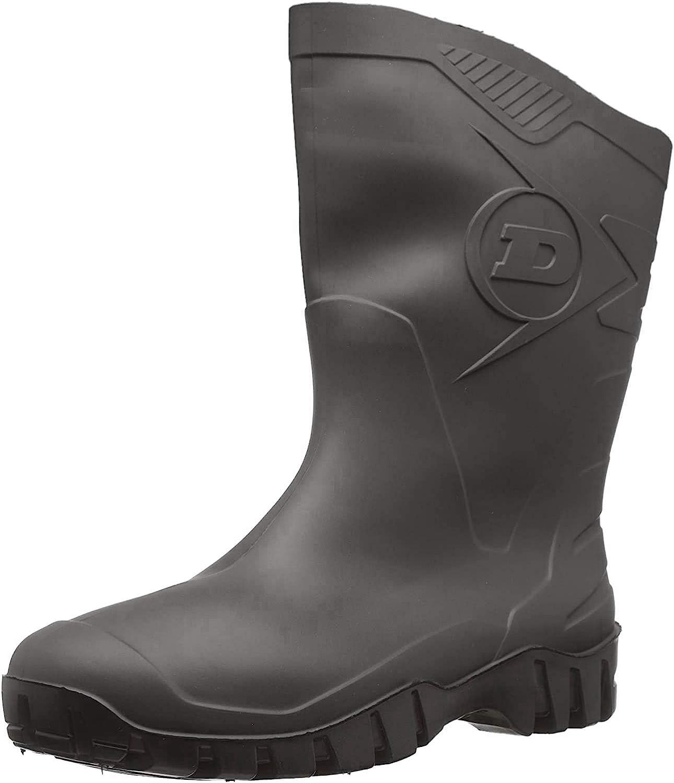 Dunlop Protective Footwear Dunlop DEE, Botas de Seguridad Unisex Adulto, Negro Black, 42 EU