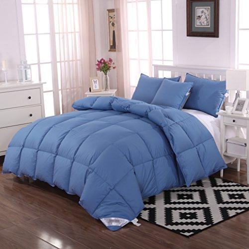 Newlake Queen Full Size White Down Alternative Comforter